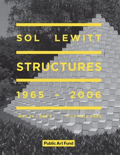For Office Use Only | Sol Lewitt #design #graphic #identity