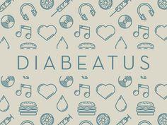 Diabeatus #music #illustration #typography