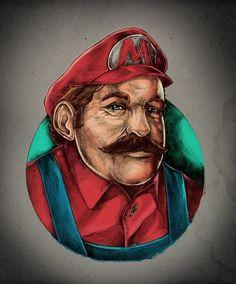 Todos os tamanhos | Super Mario | Flickr – Compartilhamento de fotos! #illustration #mario #videogame #super