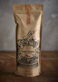Best Awards Font Studio. / Hawthorne Coffee Packaging
