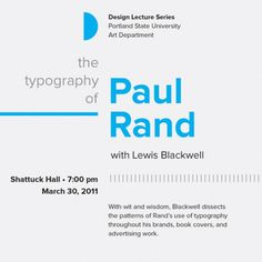 Type study: Typographic hierarchy « The Typekit Blog