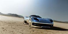 JNKDESIGNWORKS: Bling ! bling ! Desert chrome #design #future #concept #chrome #car #desert