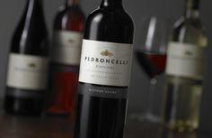 Pedroncelli Wine Label Evolution