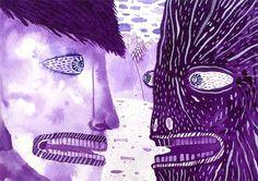purple2.jpg 600×424 pixels #illustration #painting