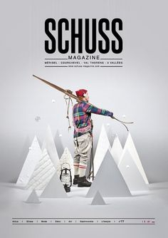 Schuss n°77 // Magazine on the Behance Network #handmade