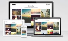 Gridsby : Pinterest Style Gallery WordPress Theme