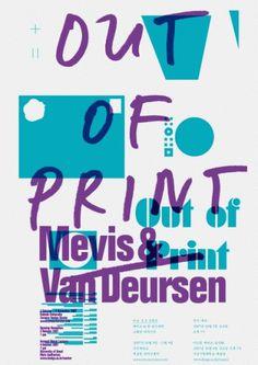 Posters  Sulki & Min #poster #overprint #multiply