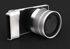 WVIL ~ Wireless Viewfinder Interchangeable Lens #camera #design #cameras
