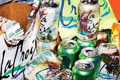 Letter of Recommendation: LaCroix Sparkling Water - NYTimes.com #script #packaging #croix #la #recycling #80s #brush