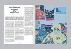 Collate #elephant #spread #type #layout #magazine