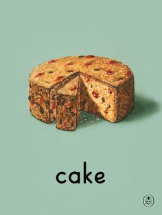 cake Art Print by Ladybird Books Easyart.com #vintage #artprints #print #design #retro #art #bookcover