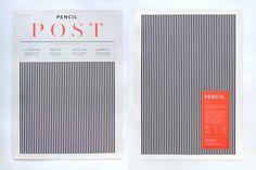 Chloe Galea via grainedit.com #pattern #lines #serif #print #type