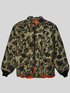 vintagexlife:Duck Camo Down Jacket #camo