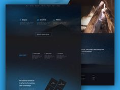 Free Landing Page PSD by Patryk Adaś
