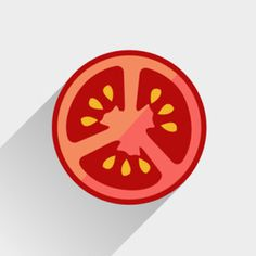 Tomato #icon #tomato #flat #zone