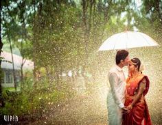 Post wedding Shoot in The Rain