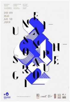 Toutes les tailles | Affiche Une Saison Graphique 2012 | Flickr: partage de photos! #les #design #graphic #type #graphiquants