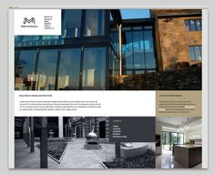 Architectural website design