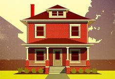 5280 Magazine #exterior #illustration #vector #architecture