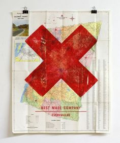 design work life » Axe Art #poster #type #map