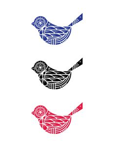 birds.jpg #art #sweden #folk #birds #folk art #wings #beak