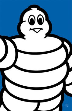 Make the Logo Bigger #make #bigger #design #graphic #the #michelin #logo #man
