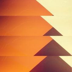 ISO50 Blog – The Blog of Scott Hansen (Tycho / ISO50) » The blog of Scott Hansen (aka ISO50 / Tycho) #abstract #orange #minimal #geometric