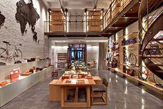 Shinola Tribeca Flagship store New York City Shinola Tribeca Flagship store , New York City #store #enviroment