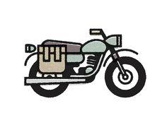 Vietnam #illustration #texture #motorcycle