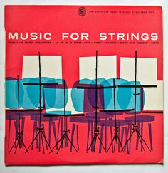 Album cover(World Record Club Melbourne 1960s Design: David Leonard, via iconoclassic #design #graphic