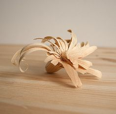 woodflower #flower #wood #carving