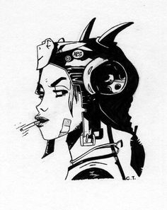 Tank Girl I by skate alco on deviantART #jamie #hewlett #tank #girl