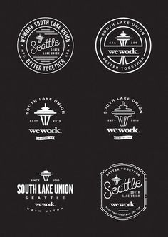 We Work Better Together, South Lake Union, Seattle //#LogoDesign #GraphicDesign #Inspiration