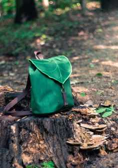 leaf, bag, backpack