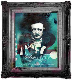 by buentypo: Edgar Allan Poe #edgarallanpoe #buentypo #bto #poster