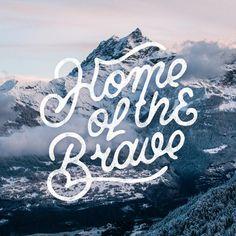Home of the Brave by Mark van Leeuwen