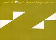 Chermayeff and Geismar for Concert Associates: I Solisti di Zagreb | Flickr - Photo Sharing! #chermayeff #geismar #and