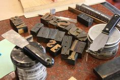 All sizes | LetterPressNov2008 (15) | Flickr - Photo Sharing! #woodtype #ink #letterpress #metaltype