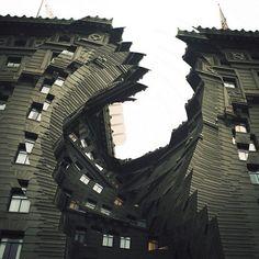 Twisting Architecture | Fubiz™ #architecture #twist