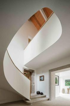 spiral staircase, Ren Ito Arquiteto