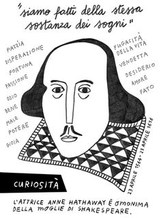 William Shakespeare #William Shakespeare #illustration #drawing