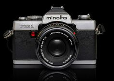 Minolta SLR #design #vintage #industrial #retro #photography