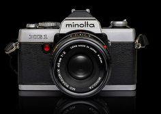 Minolta SLR #design #retro #photography #industrial #vintage