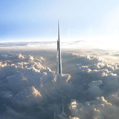 Kingdom Tower, the world's tallest building to be built in Jeddah #skyscraper #architecture