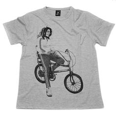 Chopper Bike T-shirt #fashion #illustration #design #tshirt