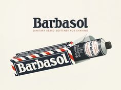 Barbasol #dribbble #50s