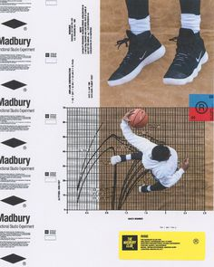 "Team Madbury on Instagram: ""RISE Poster Series. (2/3) 1600"" x 2000"" for @NikeBasketball. Digital, physical collage. @darrylrichardson_ @chris.albo @yanville"" • Instagram"