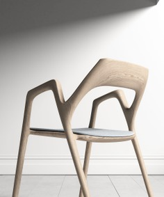 The Ging chair design is inspired by a slingshot — minimalgoods