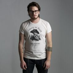 Liberty or Death / Bare & Hatchet #shirt #apparel #tattoo