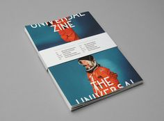 The Universal Zine #zine #nasa #publication #space #grid #layout #editorial #magazine #typography
